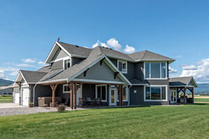 2002 Realm Rd, Armstrong BC - Beautiful Property on 9.95 Acres!