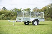 8x5 Cage Box Welded Tipper TIlt Trailer Hot dipped Galvanised Beachmere Caboolture Area Preview