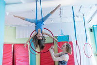 Aerial Circus Classes for Youth