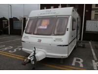Fleetwood Heritage 550 ES 2001 4 Berth Caravan £3300