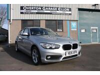 2015 BMW 1 Series 116D 1.5DIESEL SE AUTO Diesel silver Automatic