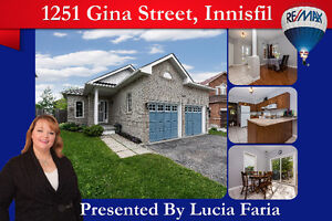 Charming 1700 sq.ft bungalow in Innisfil!