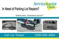 Parking Lot Maintenance: Pot Hole / Sweeping / Painting / Clean