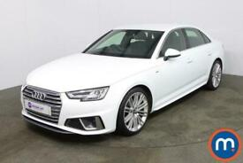 image for 2019 Audi A4 35 TFSI S Line 4dr S Tronic Auto Saloon Petrol Automatic