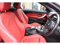 BMW 430d XDRIVE M SPORT-WIDE SCREEN NAV-RED HEATED LEATHER