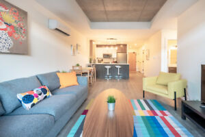Executive Furnished 2 Bedroom Apt. Right Downtown - Avail. Jan 1