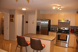 TWO BEDROOM CONDO - FURNISHED - HEATED UNDERGROUND PARKING IN GR