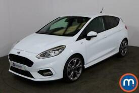 image for 2020 Ford Fiesta 1.0 EcoBoost 125 ST-Line X Edn 5dr Auto [7 Speed] Hatchback Pet