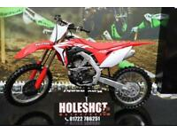 2018 HONDA CRF 250 MOTOCROSS BIKE ELECTRIC START, NEW FRONT TYRE