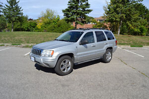 2004 Jeep Grand Cherokee Overland Ready for Winter!
