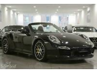 2015 Porsche 911 2015 15 PORSCHE 911 TURBO S PDK Petrol black Automatic