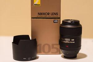 Nikon 105mm Macro VR