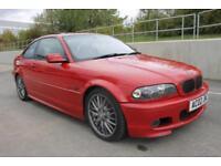 2002 BMW 3 SERIES 330CI SPORT, IMOLA RED, AUTO,PETROL, FACELIFT, FSH