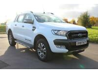 Ford Ranger 3.2TDCi ( 200PS ) ( 4x4 Wildtrak Double Cab White 66 Reg Manual