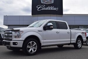 2015 Ford F-150 4x4 Supercrew Platinum
