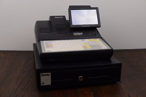Cash Register POS System- Sam4s sps-520 + scanner - near new