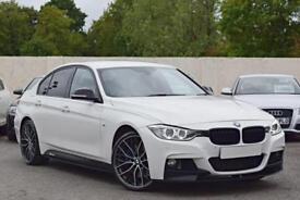 BMW 335d M SPORT PLUS 3.0 DIESEL X-DRIVE [M-PERFORMANCE] 5DR 2014 [14] WHITE