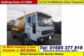 2001 - Y - VOLVO FL6 4X2 18TON WHALE GULLEY C/W JETTER (GUIDE PRICE)