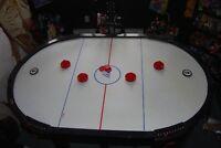 Table de jeu hockey sur air