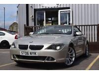 2006 06 BMW 6 SERIES 4.8 650I SMG 2D AUTO 363 BHP