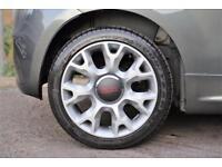 2014 Fiat 500 1.2 S Dualogic 2dr (start/stop) Petrol grey Semi Auto