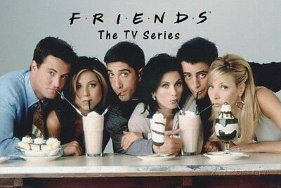 New Tv Show Poster - FRIENDS TV SHOW POSTER (MILKSHAKE) (SIZE 24