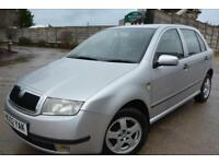 SKODA FABIA ELEGANCE 1.4 AUTOMATIC 5 DOOR*LOW MILEAGE*ONLY 42,000 MILES*2 OWNERS