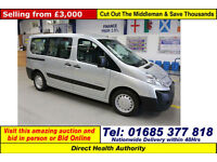 2009 - 59 - CITROEN DISPATCH 1.6 HDI 90 5 SEAT DISABLED ACCESS BUS (GUIDE PRICE)