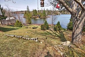 Belle propriété avec une vue superbe sur le lac et la montagne
