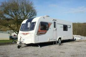 2013 Bailey Unicorn Cadiz Luxury 4 Berth Fixed Single Beds Alde Heating & Mover