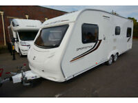 2010 Sprite Sportstyle 6 Berth Touring Caravan with Fixed Bed