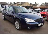 2003 Ford Mondeo 2.0 GHIA X AUTOMATIC + 1 OWNER + SAT NAV + LEATHER ++