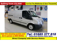 2012 - 12 - FORD TRANSIT T280 TREND 2.2TDCI 125PS FWD MWB VAN (GUIDE PRICE)