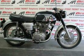 1967 HONDA CB450 BLACK BOMBER, RARE UK BIKE