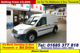 2012 - 12 - FORD TRANSIT CONNECT T230 1.8TDCI 90PS LWB VAN (GUIDE PRICE)
