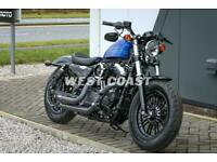 2019 HARLEY-DAVIDSON XL1200X FORTY-EIGHT in BLUE MAX