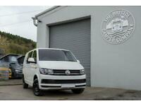 VW T6 SWB Genuine Kombi *Air Con & Rear Parking Sensors* Tailgate in Candy White