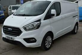 2018 Ford Transit Custom 300 LIMITED LWB EURO 6 VAN L2 H1 Panel Van Diesel Manua