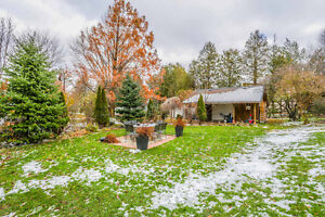 Solid brick bungalow on 2.36 acres within the City limits London Ontario image 8