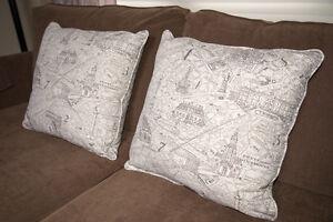 Two Decorator Cushions