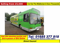 1997 - R - DENNIS DART SLF 4X2 11.5TON AUTO MOBILE YOUTH CENTRE (GUIDE PRICE)