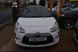 2012 12 CITROEN DS3 1.6e-HDi AIRDREAM STYLE PLUS GOOD AND BAD CREDIT CAR FINANCE