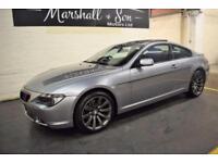 2007 07 BMW 6 SERIES 3.0 630I SPORT 2D AUTO 255 BHP