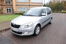 2012 Skoda Roomster 1.6TDI Left hand drive Lhd Spanish Registered