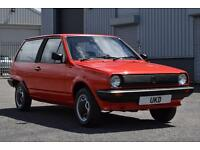 VW VOLKSWAGEN POLO MK2 BREADVAN 1.3 CL 1984 LOW MILEAGE RED 3DR