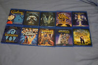 Blu-ray movies - Very good condition - Cheap prices