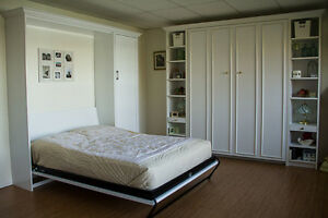 Space saver furniture...MURPHYBEDS/cabs/wardrobes/offices