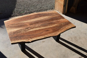 Coffee table made from an Apple Tree, matching mirror available