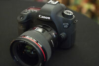 like new canon EOS 6d full frame dslr body