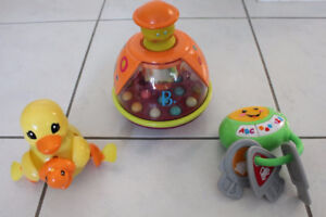 STROLLER, CAR SEAT MUSICAL TOY, WATER BATH TOY